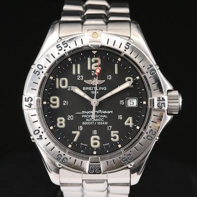 Breitling Superocean Professional Automatic Wristwatch