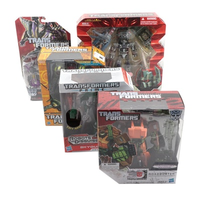 Hasbro Transformers Figures Including Bruticus Maximus in Original Packaging