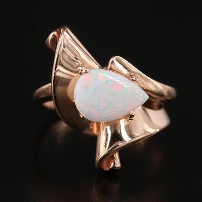 Raul Haas 14K Rose Gold Opal Ring