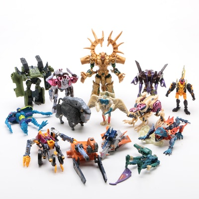 "Hasbro  ""Beast Wars"" Loose Transformers Figures and Vehicles, 1999"