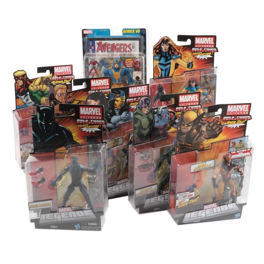 Hasbro Marvel Legends Action Figures in Original Packaging