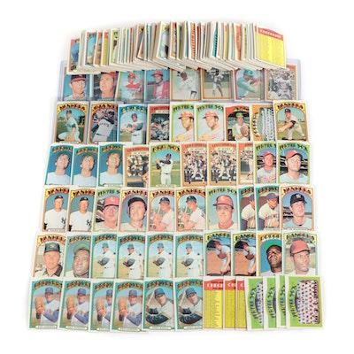 1972 Topps Baseball Cards