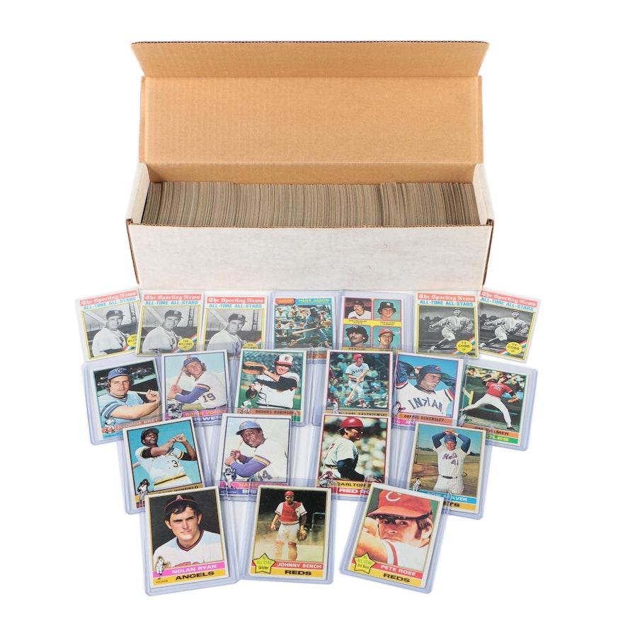 1976 Topps Baseball Cards