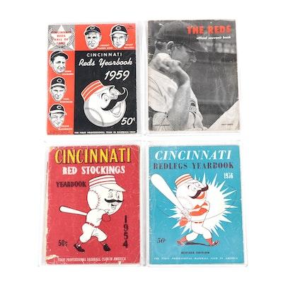Cincinnati Reds Yearbook Programs, Mid-Century
