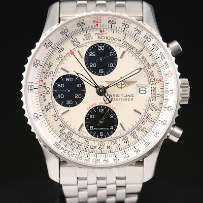 Breitling Navitimer Breitling Fighters Special Edition Stainless Steel Watch