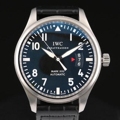 IWC Pilots Mark XVII Stainless Steel Automatic Wristwatch