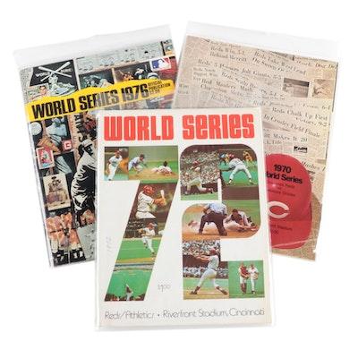 Cincinnati Reds World Series Programs