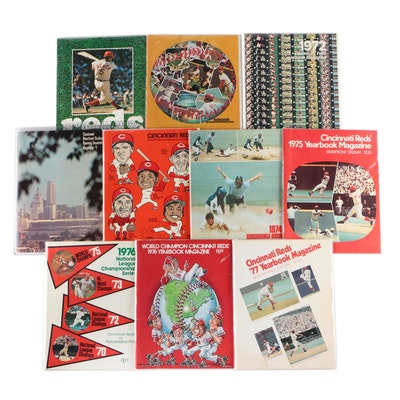 1970s Cincinnati Reds Yearbook Magazines