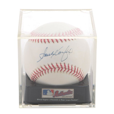 Sandy Koufax Signed Rawlings Major League Baseball with PSA/DNA COA