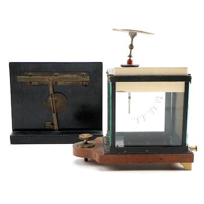 Max Kohl A.G. Projection Electroscope with Wheatstone Bridge Test Apparatus