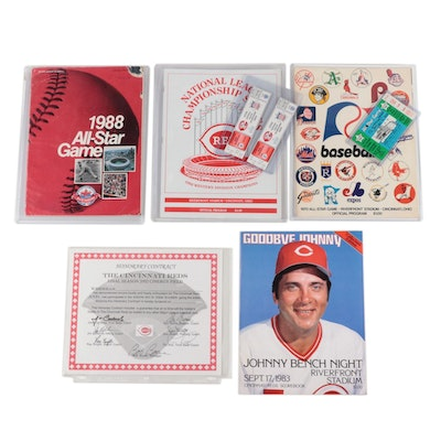 Reds All-Star, NLCS, Bench Night Programs and Tickets