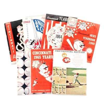 1960s Cincinnati Reds Programs