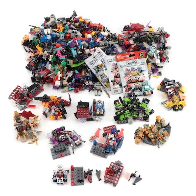 Hasbro Loose Kre-O Mico Changers Transformers Figures and Vehicles, 2012