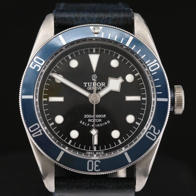 Tudor Black Bay Stainless Steel Automatic Wristwatch