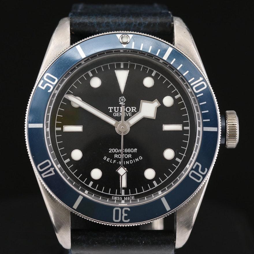 Tudor Black Bay Stainless Steel Automatic Wristwatch