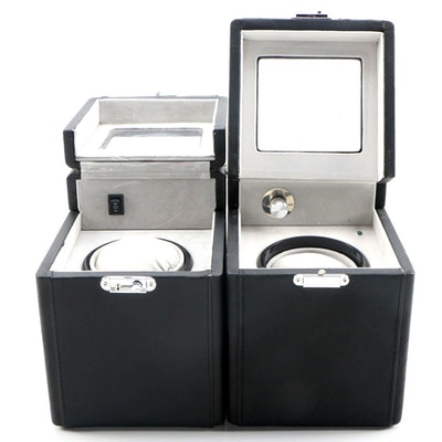 Leather Watch Winder Cases, Contemporary