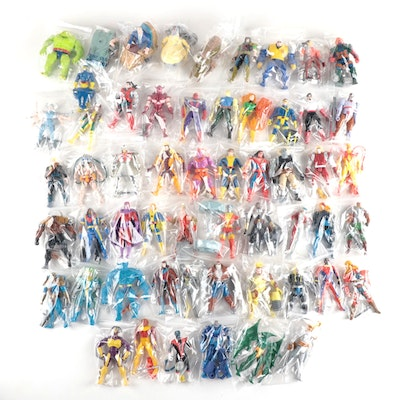 Marvel Toy Biz Action Figures, Large Collection From 1994