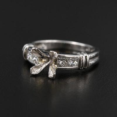 Scott Kay Platinum Diamond Semi-Mount Ring