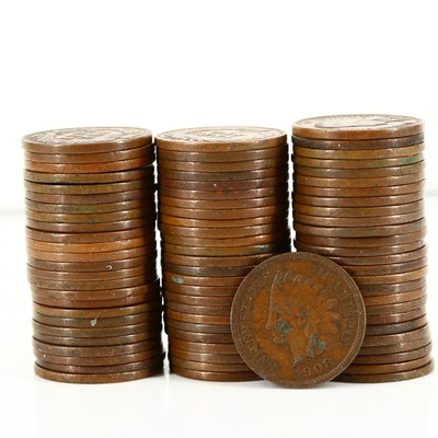 Seventy-Seven Indian Head Cents