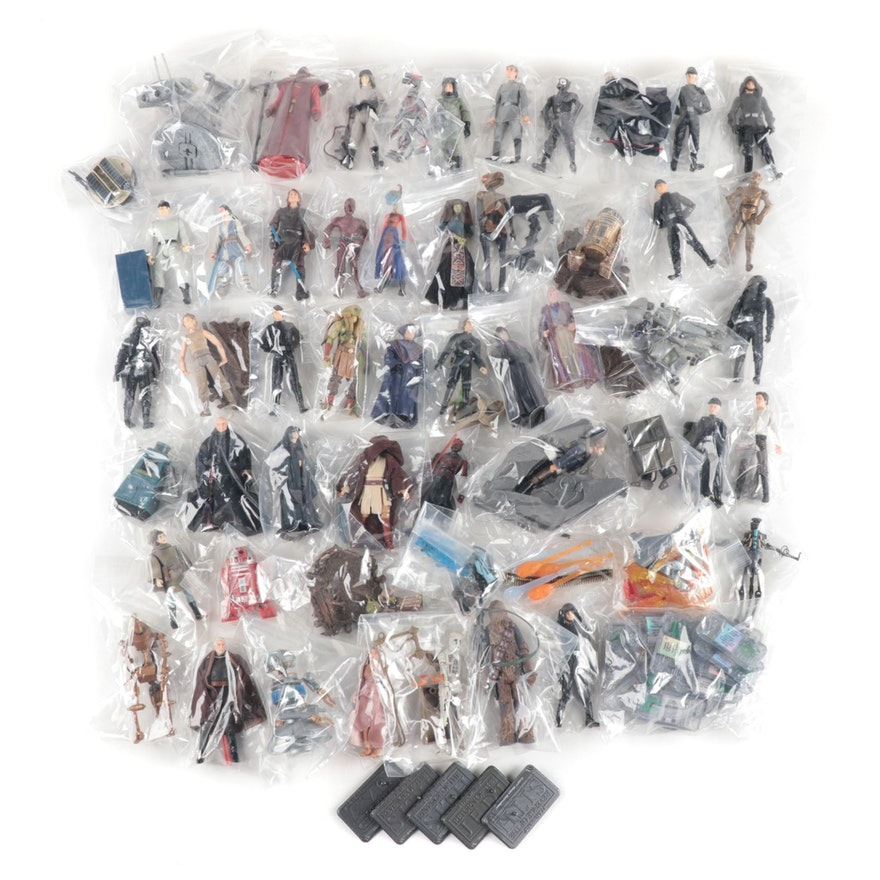 "Hasbro ""Star Wars"" Loose Action Toy Figures, 2005"