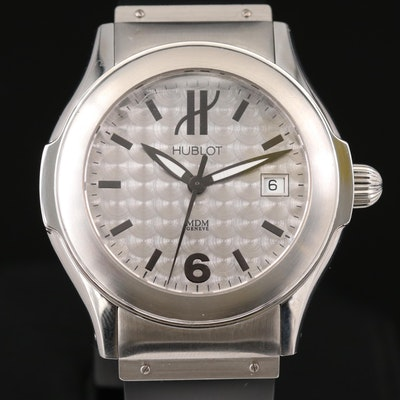 Hublot Elegant Stainless Steel Automatic Wristwatch