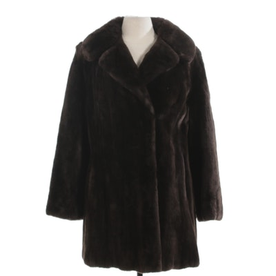 Sheared Mink Fur Stroller by I. Himmel & Sons