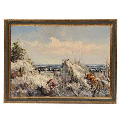 Willem Frederik Reinders Impasto Oil Painting, Mid-20th Century