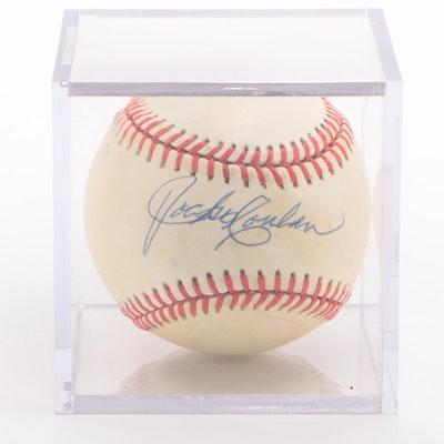 Jocko Conlan Signed National League (Giamatti) Baseball  COA