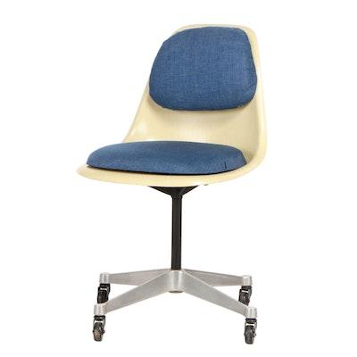 Fiberglass Molded Office Chair, Mid-20th Century