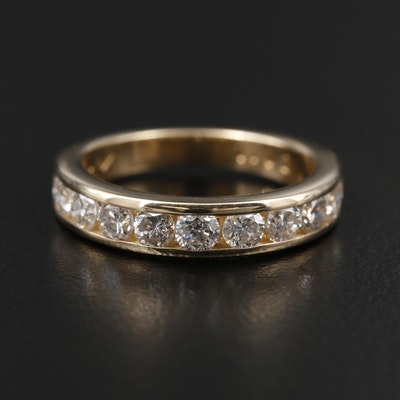 14K Yellow Gold 1.04 CTW Diamond Ring