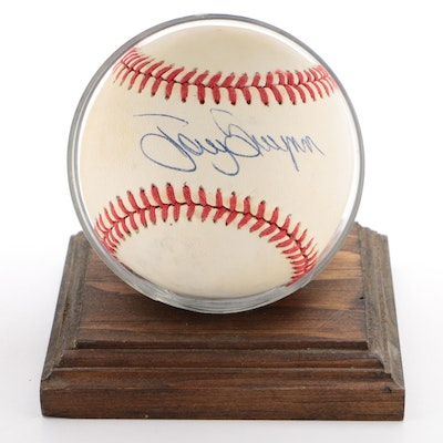 Tony Gwynn Signed National League Baseball  COA
