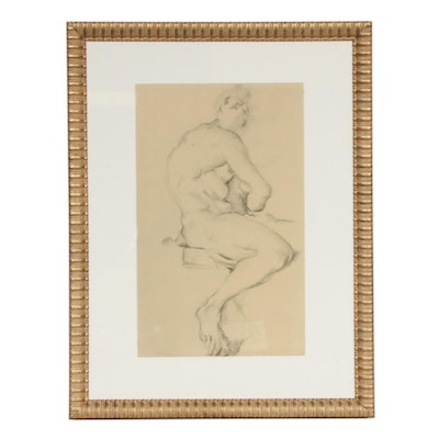 Collotype Reproduction After Paul Cézanne Figure Study, 1921