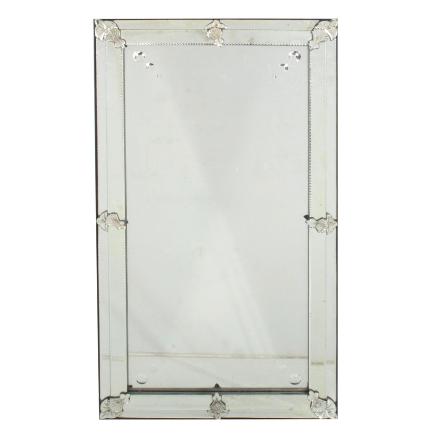 "Restoration Hardware ""19th Century French Layered Glass Mirror"""