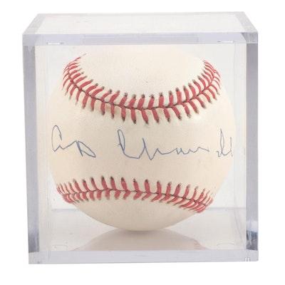 """Albert """"Happy"""" Chandler Signed American League Baseball  COA"""