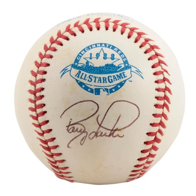 Barry Larkin Signed 1988 Major League All-Star Baseball  COA