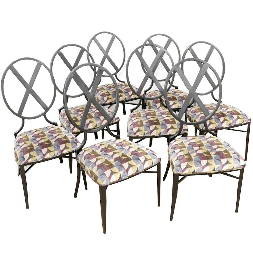 Kessler Industries Inc. Modernist Cast Metal Dining Chairs