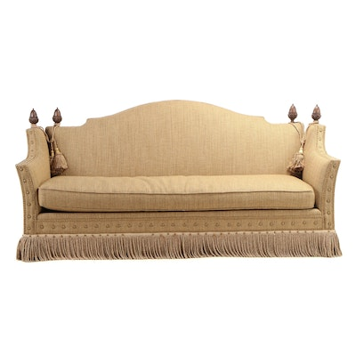 Hickory White Knole-Style Sofa, Late 20th Century