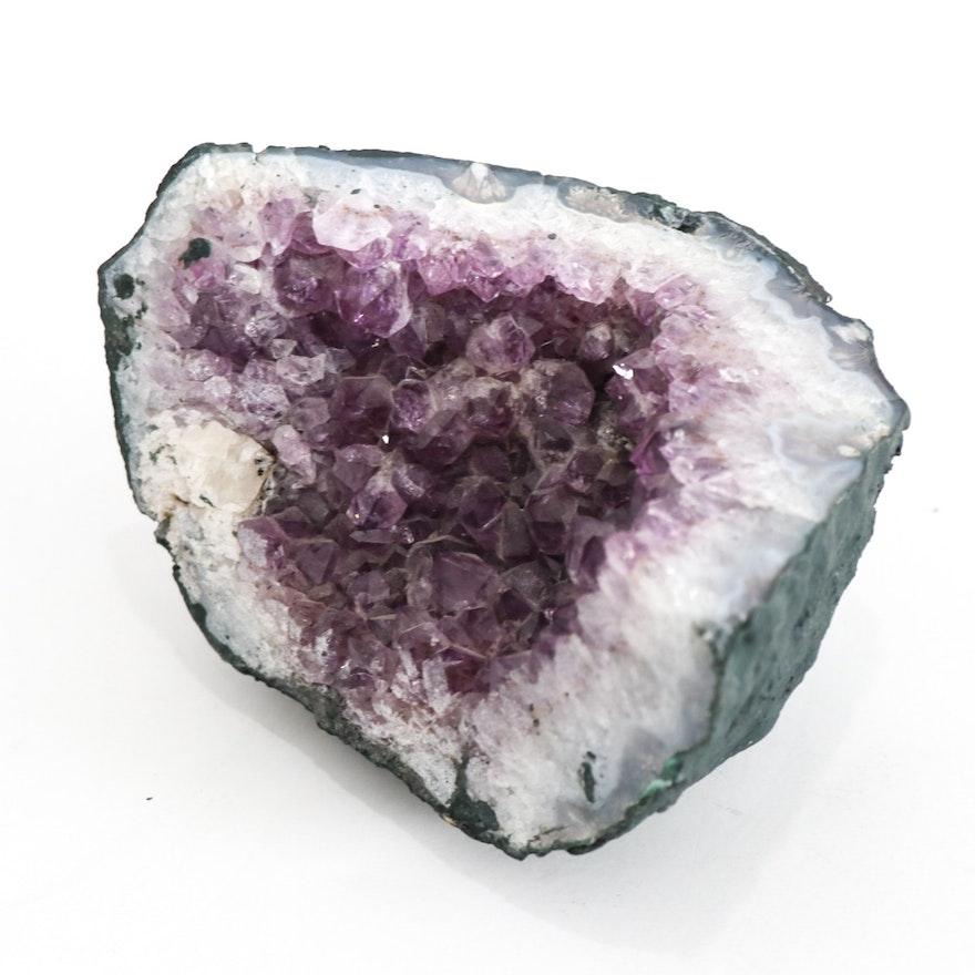 Amethyst Crystal Geode Specimen
