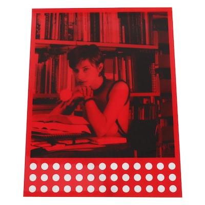 "Rosemarie Trockel Serigraph ""Bibliothek Babylon,"" 1997"