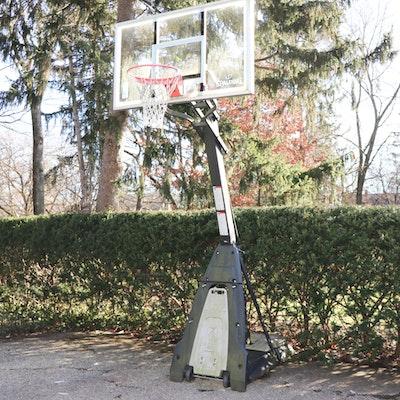 Spalding Adjustable Height Basketball Hoop