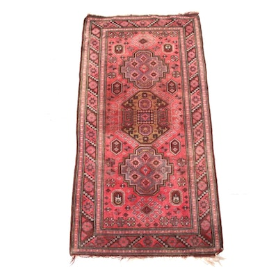 3'3 x 6'4 Hand-Knotted Turkish Village Rug