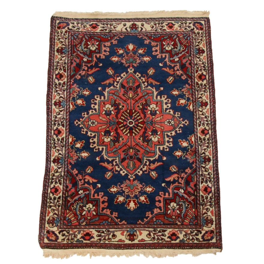 2'9 x 4'2 Hand-Knotted Persian Tabriz Rug
