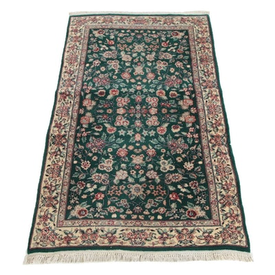 3'0 x 5'6 Hand-Knotted Persian Tabriz Wool Rug