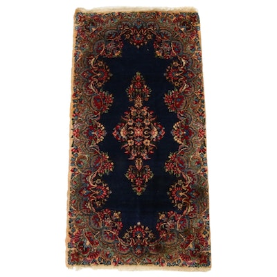 2'1 x 4'2 Hand-Knotted Persian Kirman Rug