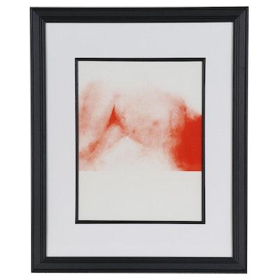 """Claude Garache Lithograph for """"Derrière le Miroir"""", 1977"""