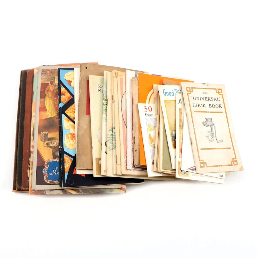 Promotional Cookbooks and Recipes, Early to Mid 20th Century
