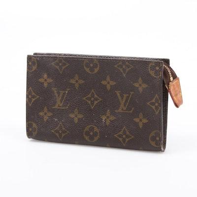 Louis Vuitton Monogram Coated Canvas Zip Pouch