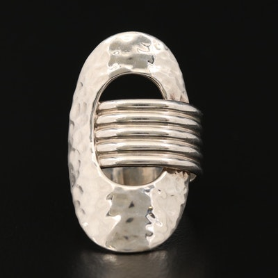 Mexican Hammered Sterling Silver Ring