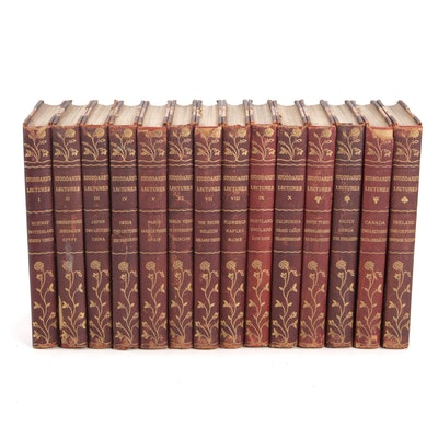 John L. Stoddard's Lectures, Fourteen Volumes, 1911