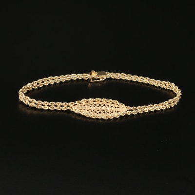Vintage Michael Anthony 14K Yellow Gold Bracelet